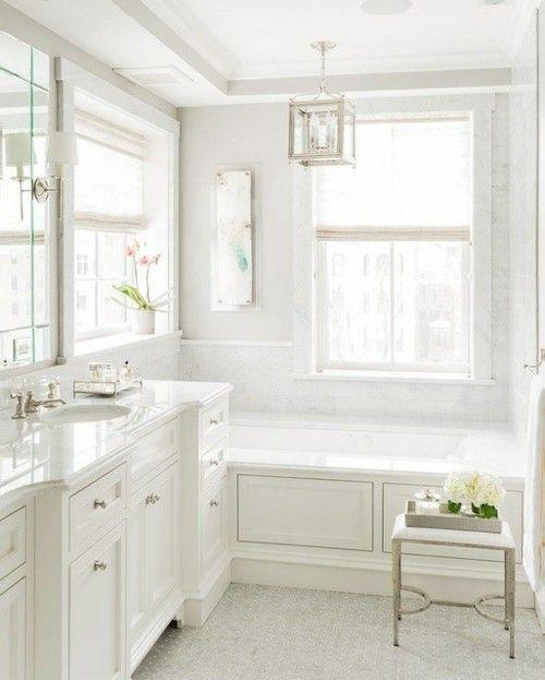 badewanne-badezimmer-deko-marmor