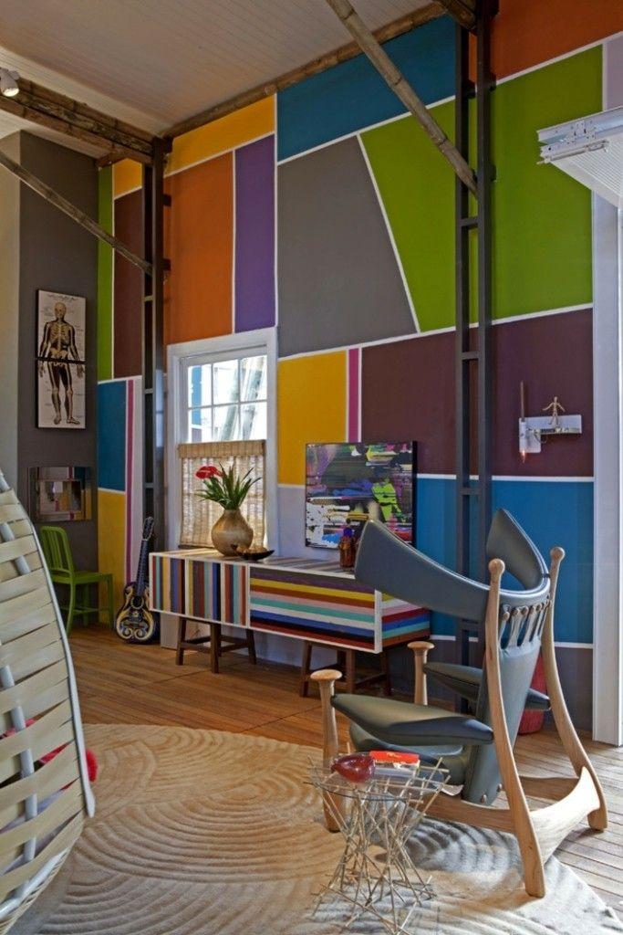 ideen-fur-wandgestaltung-im-wohnzimmer-wanddeko