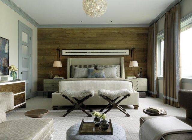 20 inspirierende schlafzimmer mit wandpaneelen aus holz