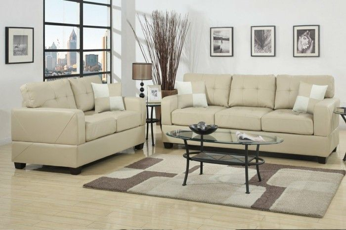 ledersofas mit stil beliebte lederarten und eigenschaften. Black Bedroom Furniture Sets. Home Design Ideas