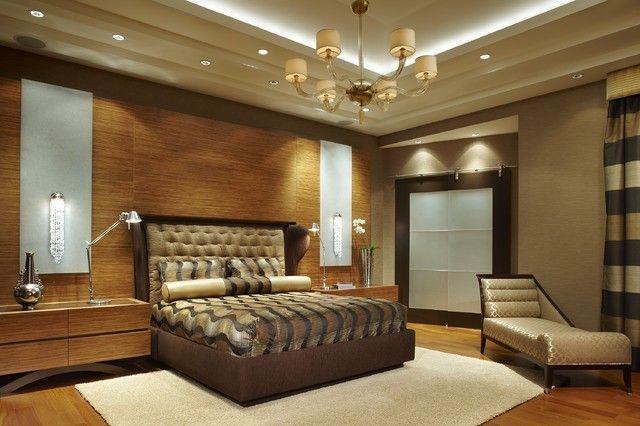 luxurioses-schlafzimmer-wandpaneele-nachttisch-tischlampe
