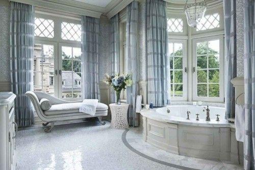 Luxus Badezimmer Deko Marmor Badewanne