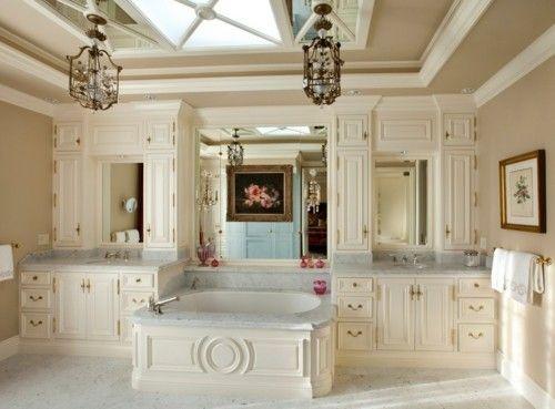 Luxus Badezimmer Deko Marmor