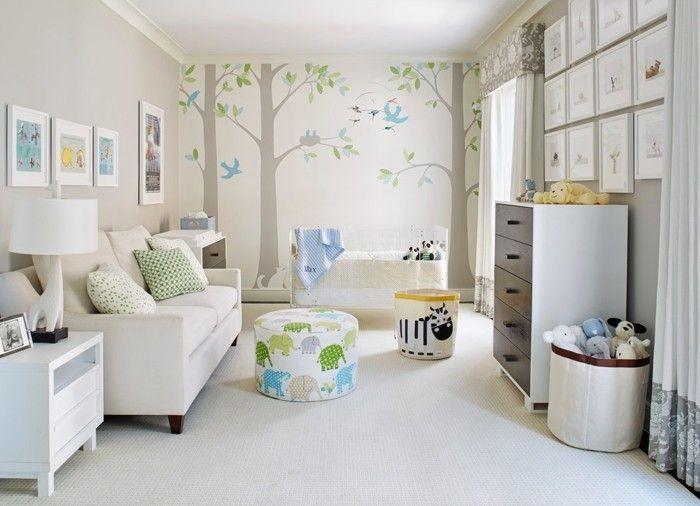 Babyzimmer Junge Beige Das Babyzimmer U2013 Coole Ideen Für Praktische Und  Moderne Gestaltung .