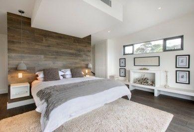 20 inspirierende Schlafzimmer mit Wandpaneelen aus Holz - Trendomat.com