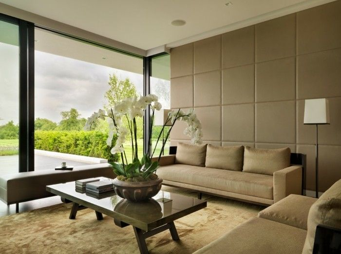 wandfarben wohnzimmer ideen wandgestaltung rote wandfarbe. coole ... - Moderne Wandgestaltung Fur Wohnzimmer