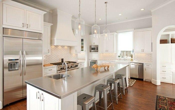 wie soll man die verschiedenen arbeitsplatten in der küche ... - Küche Mit Edelstahl Arbeitsplatte