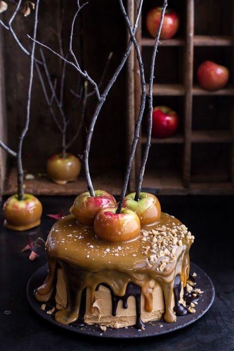 apfelkuchen-zu-halloween