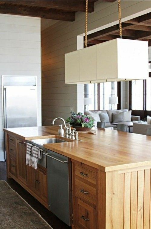 Kücheninseln: Allgemeine Gestaltungsregeln und moderne ...