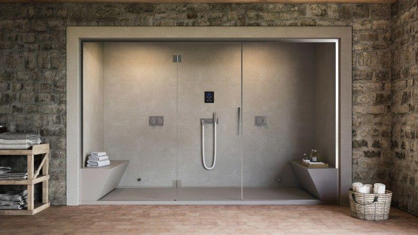begehbare duschen bringen ein besonderes spa feeling. Black Bedroom Furniture Sets. Home Design Ideas