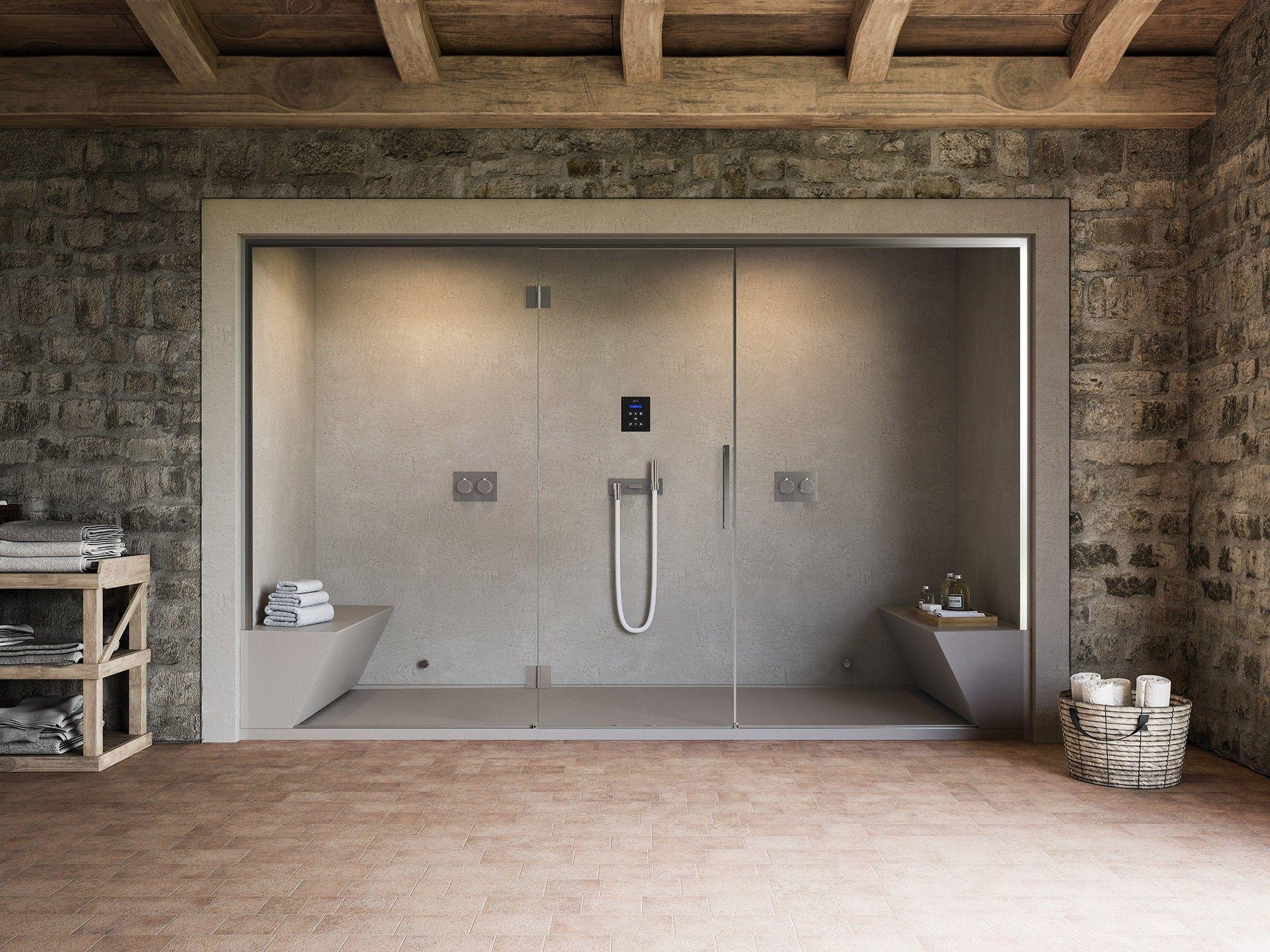 begehbare duschen bringen ein besonderes spa-feeling - trendomat