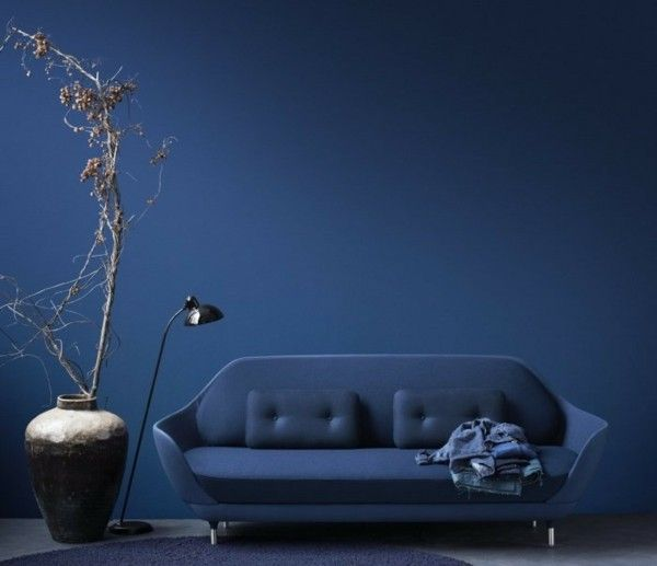 Moderne Blaunuancen Für Ihre Wandfarbe Und Raumakzente