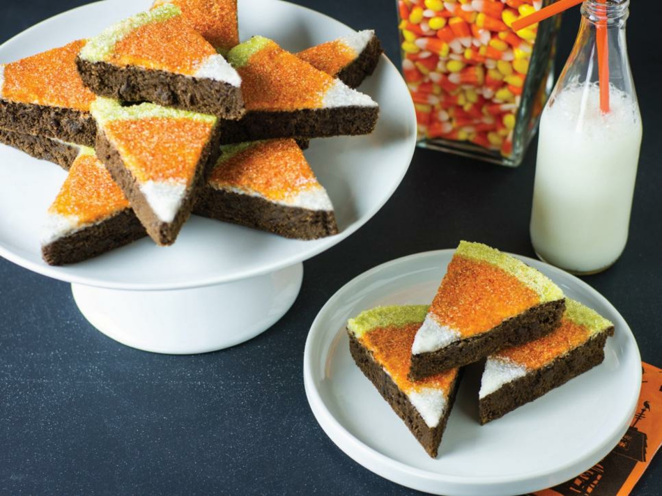 candy-corn-brownies-halloween-deko