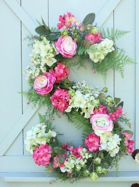 deko-tur-frische-blumen-s-formig-rosa-pink