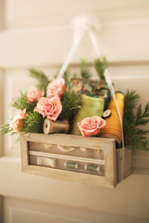 dekorative-box-rosen-deko-tur-nahgarn