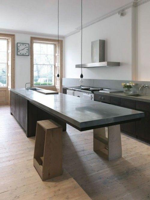 K cheninseln allgemeine gestaltungsregeln und moderne for Kuchenbilder modern