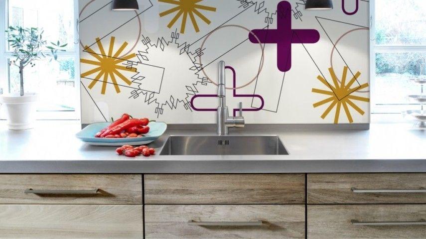 kuchenruckwand holz kuchenspiegel tipps, 20 auffällige küchenspiegel, die ihr küchendesign mal anders, Design ideen