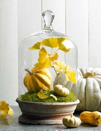 50 deko ideen f r den herbst die leicht nachzumachen sind - Herbstblatter deko ...