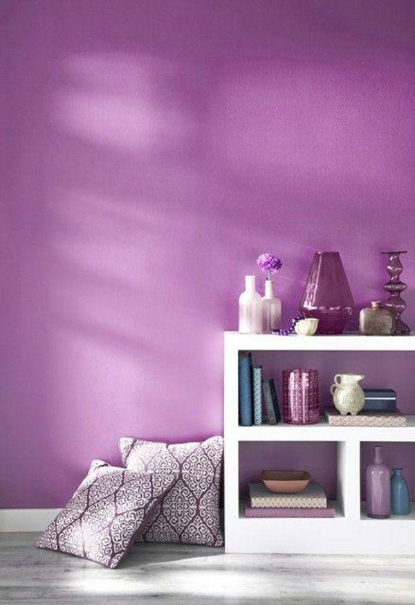 lila wandfarben und ihre mannigfaltigen modernen nuancen. Black Bedroom Furniture Sets. Home Design Ideas