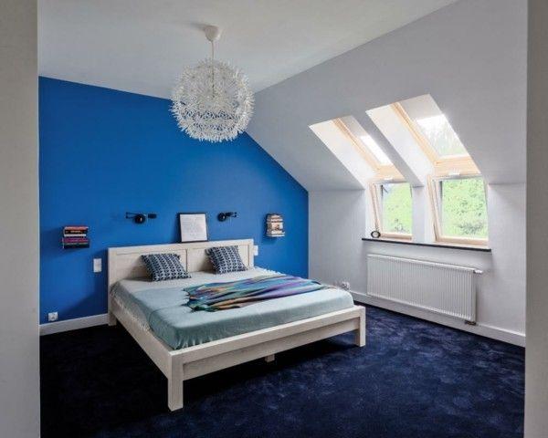 Ozeanblau ist eine beliebte Farbe viele Hausinhaber