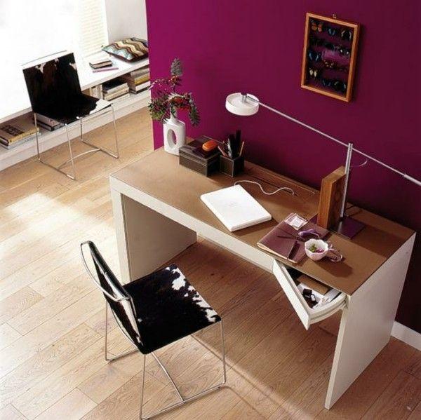 purpurrot-wandfarben
