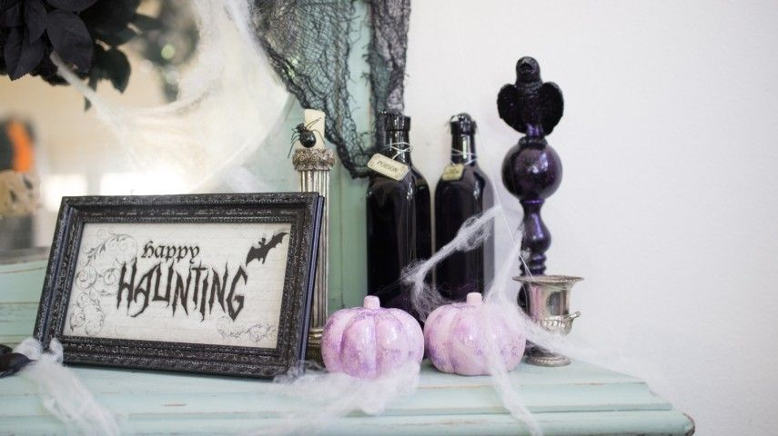 halloween dekoration f r haus und garten. Black Bedroom Furniture Sets. Home Design Ideas