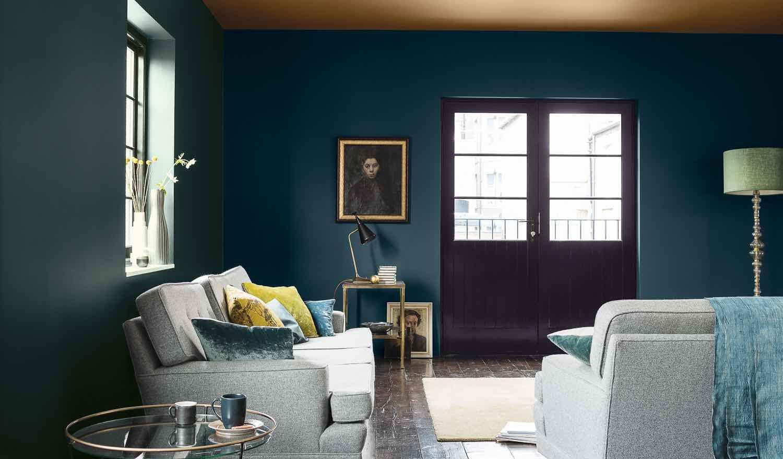 Wandfarben, die anfangs edel aussehen, auf die Dauer aber ungünstig ...