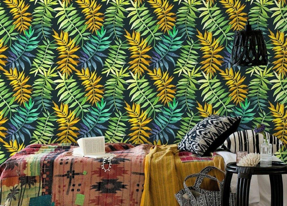 wandtapeten-im-tropischen-stil