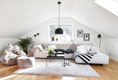 Romantik pur – ein behagliches Wohnzimmer auf dem Dach ...