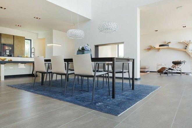 Wohnideen Fur Grose Moderne Esszimmer Mit Weisen Wanden