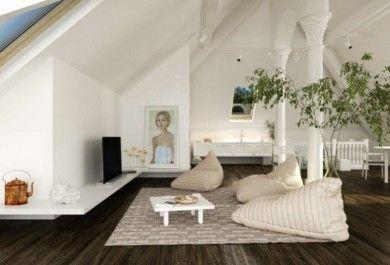 Romantik Pur U2013 Ein Behagliches Wohnzimmer Auf Dem Dach Einrichten    Trendomat.com