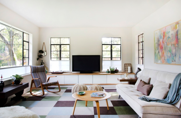 eklektisches-wohnzimmer