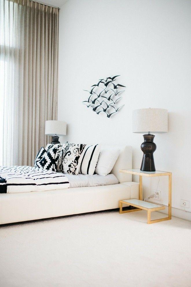 ideen-schlafzimmer-wandgestaltung-schwarz-weis