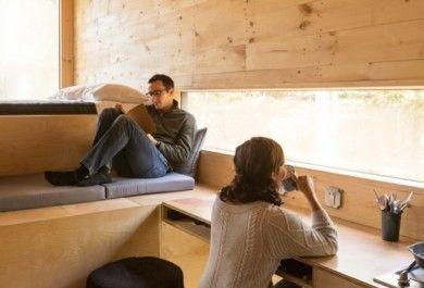Bauen und leben in kleinen h usern luxus der zukunft for Innenarchitektur zukunft