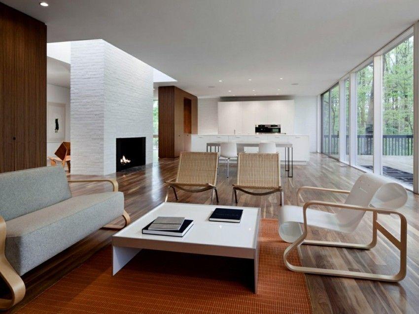 Minimalismus Im Wohnzimmer Teppich