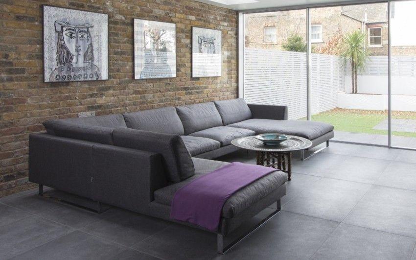 minimalistisches-wohnzimmer-ecksofa