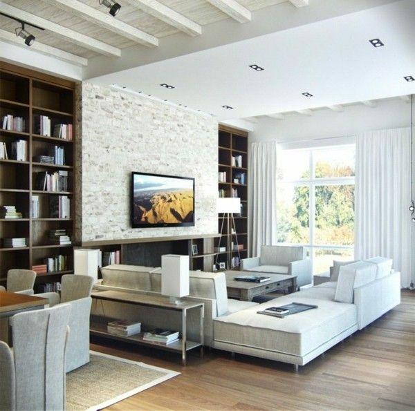 monochrome-wohnzimmer-einrichtung