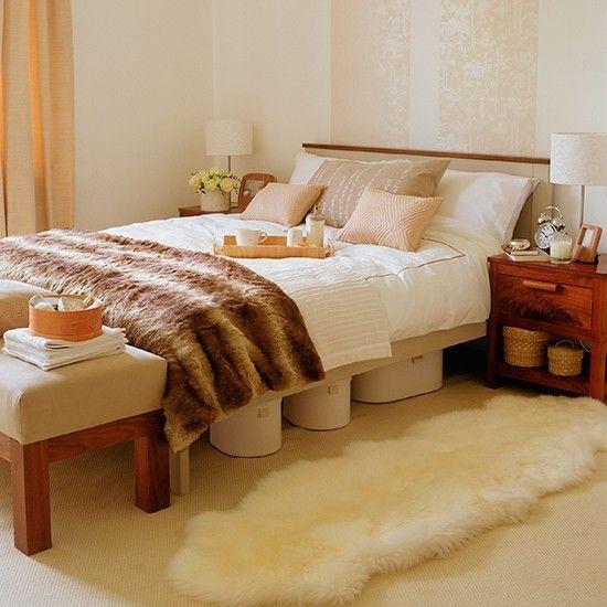 Behagliche Farbpaletten für die herbstliche Schlafzimmergestaltung ...