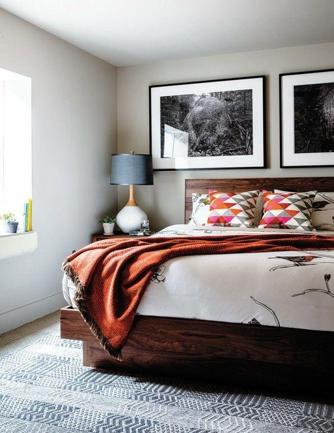 wohnideen-schlafzimmer-design-modern-schwarz-weis