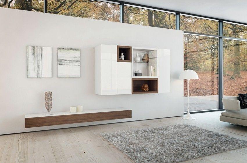 wohnwand-minimalistisch