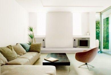 Entzuckend Minimalistische Wohnzimmer U2013 Ausgefallene Ideen Für Ein Beeindruckendes  Modernes Haus   Trendomat.com