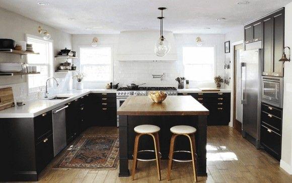 barhocker-und-kuchenhocker-moderne-kuchen-bilder