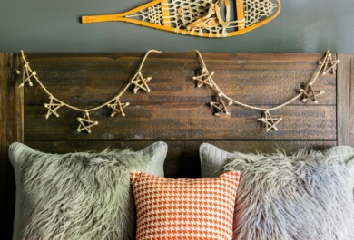 Bringen Sie ein winterliches Flair direkt in Ihr Schlafzimmer ...