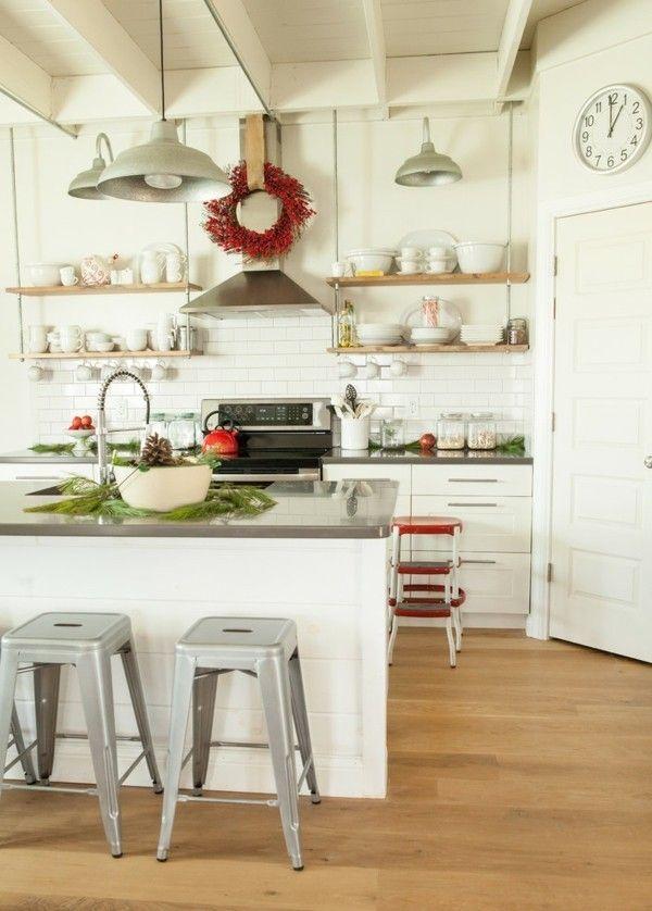 Küche Offene Deko