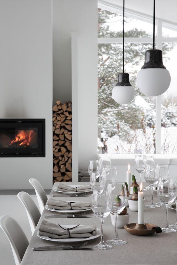 festlich gedeckter weihnachtstisch sch ne ideen zum. Black Bedroom Furniture Sets. Home Design Ideas
