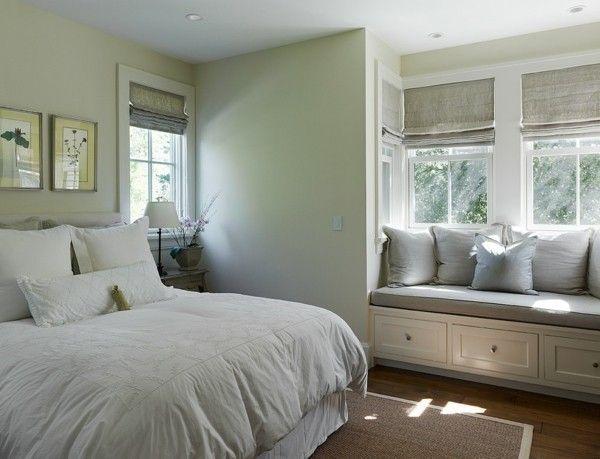 fensterrollos-furs-schlafzimmer-deko-ideen