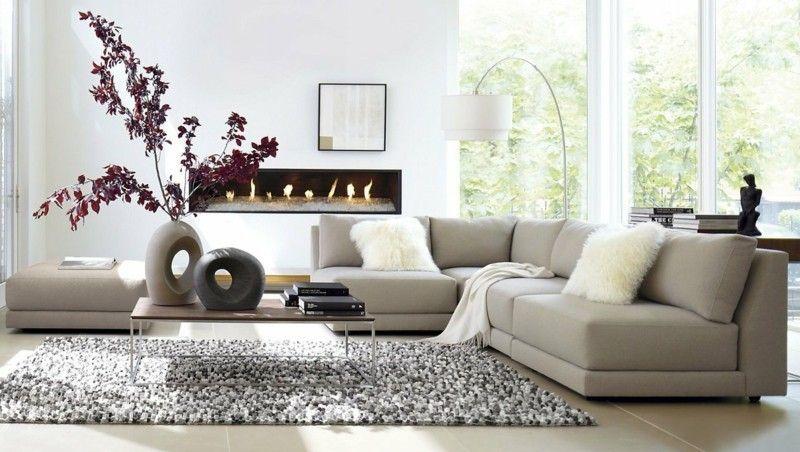 Das Moderne Wohnzimmer Mit Tageslicht | Möbelideen