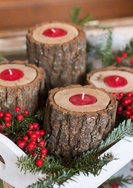 kerzenhalter-aus-baumstamm-weihnachtsschmuck