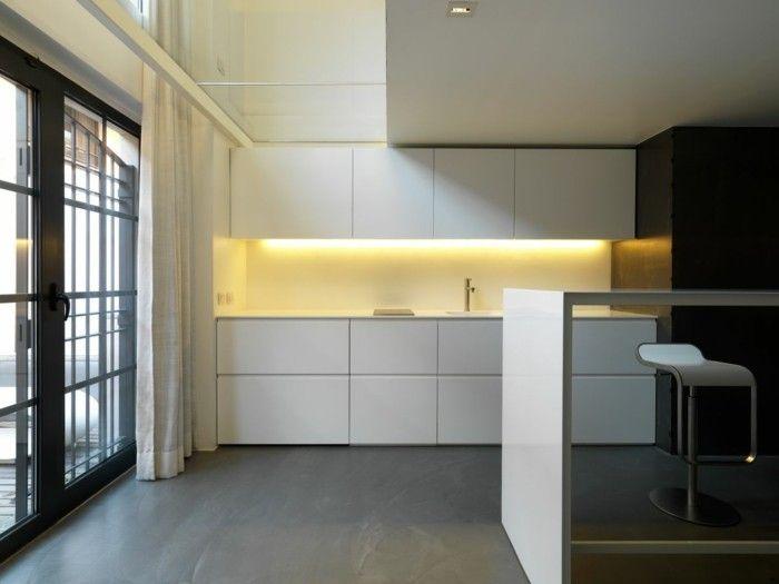 minimalistische-kuchengestaltung