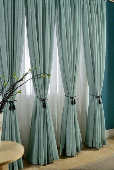 moderne-gardinen-turkis-erhabener-look